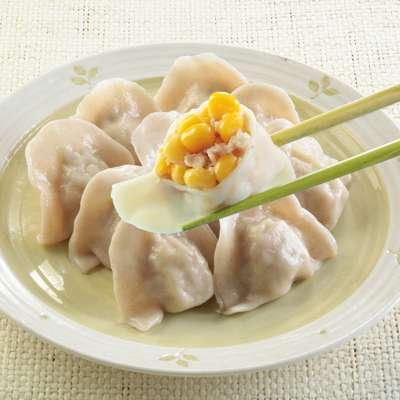玉米豬肉水餃(10粒-310g/盒)