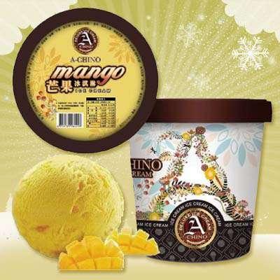 阿奇儂優質冰淇淋-芒果(630g/盒)