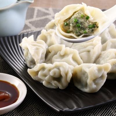 東北韭菜水餃(50顆-900g/盒)