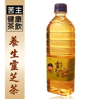 苦主健康茶飲養身靈芝茶(450ml/瓶)