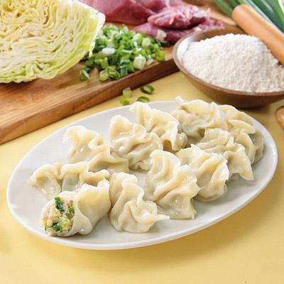手工高麗菜水餃(880g/40粒/包)