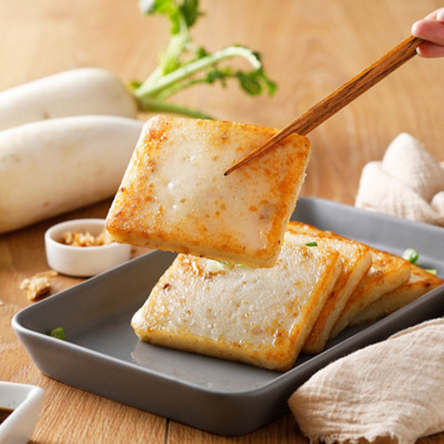 禎祥傳統蘿蔔糕(1000g/10片/包)