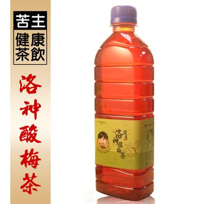 苦主健康茶飲洛神酸梅茶(450ml/瓶)