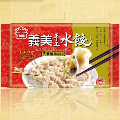義美手工水餃-玉米豬肉高麗菜(774g/盒)