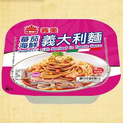 義美義大利番茄海鮮麵(340g/盒)
