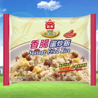 義美E家小館香腸蛋炒飯(270g/包)
