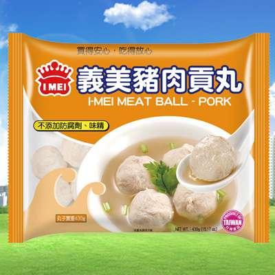 義美義美豬肉貢丸(430g/包)