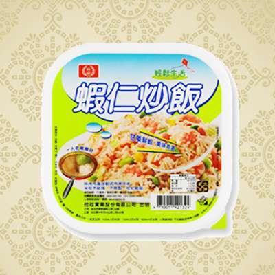 桂冠新PP盒蝦仁炒飯(275g/盒)