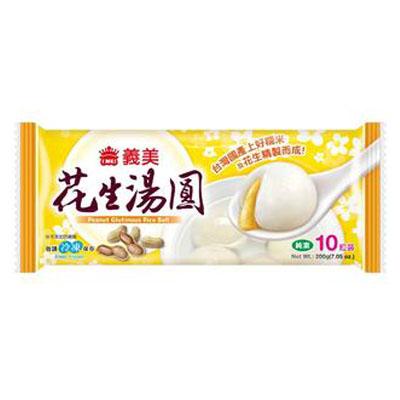 義美花生湯圓(200g/盒)