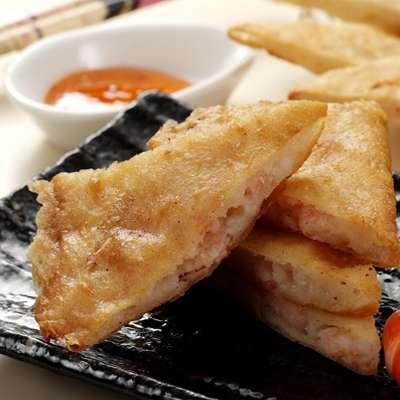阿福伯月亮蝦餅(附酸辣醬包)(2入-450g/包)