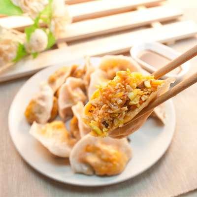 雜糧韓式泡菜純手工水餃-全素食(15顆)