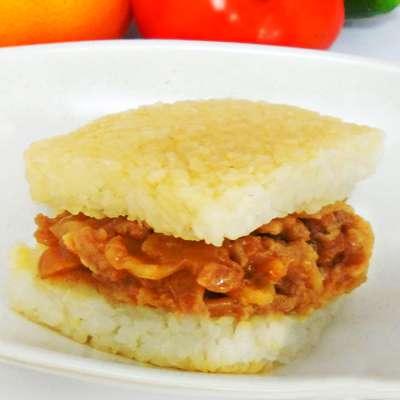 米食天地薑燒豬米漢堡(170g/單入)