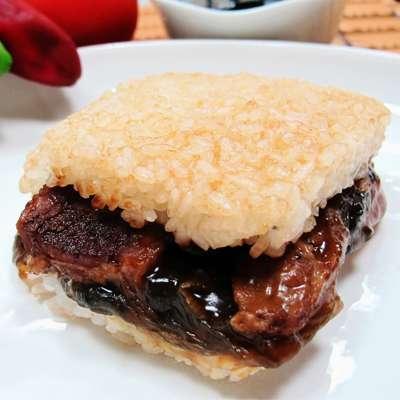 米食天地梅干扣肉米漢堡(170g/單入)