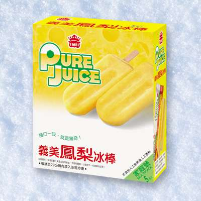 義美鳳梨冰棒(5支/盒)