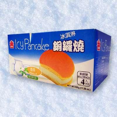 義美香草冰淇淋銅鑼燒(4個/盒)