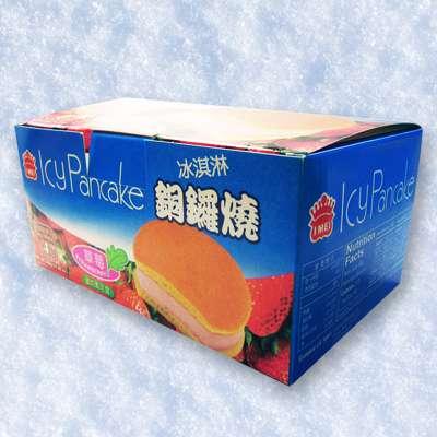 義美草莓冰淇淋銅鑼燒(4個/盒)