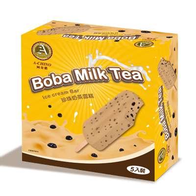 阿奇儂雪糕-珍珠奶茶(80g*5支/盒)