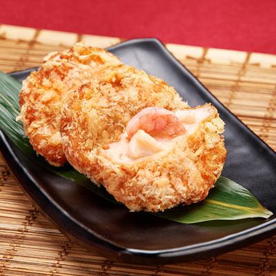 興達港歐董魚丸花枝蝦排(540g/包)