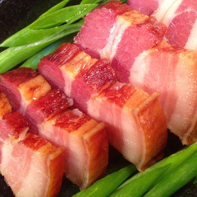南門市場。上海火腿湖南臘肉(300g/條)