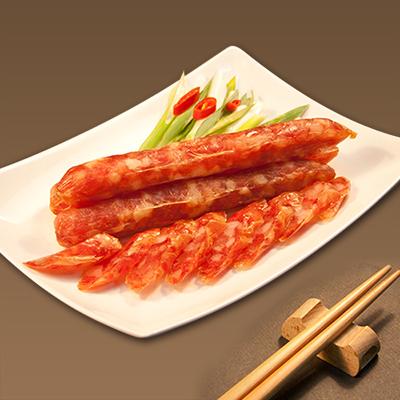 南門市場。上海火腿 港式臘腸(300g/包)