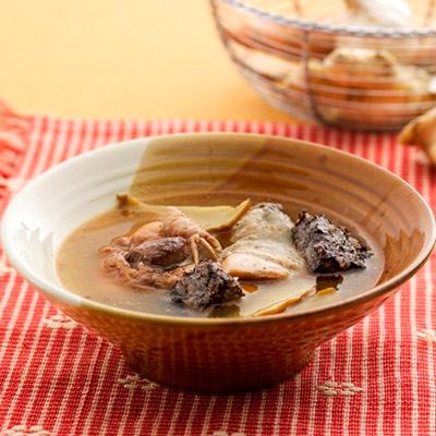 麻油米血雞湯(650g/包)