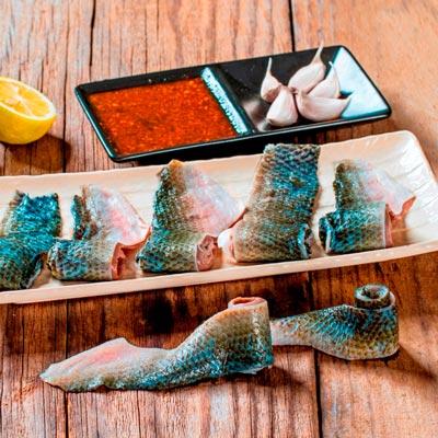 養生虱目魚皮(150g/包)