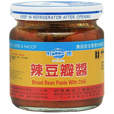 明德辣豆瓣醬(小)(165g/罐)