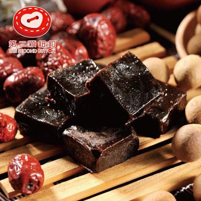 第二顆鈕釦紅棗桂圓黑糖(200g±5%/袋/6顆)