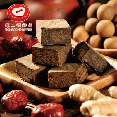 第二顆鈕釦紅棗桂圓薑母黑糖(四合一)(200g±5%/袋/6