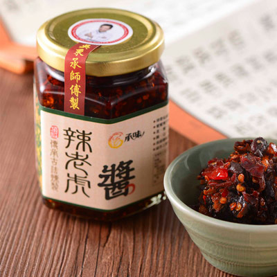 承味辣老虎醬(160g/罐)