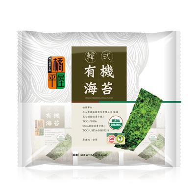 橘平屋韩式有机海苔(5.2g*6/袋)