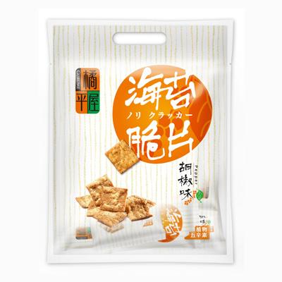 橘平屋海苔脆片量販包胡椒味(200g/袋)