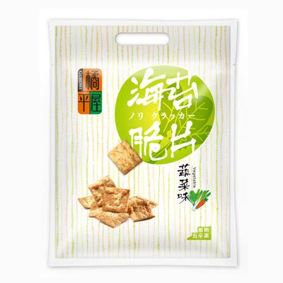 橘平屋橘平屋海苔脆片量販包蔬菜味(200g/袋)