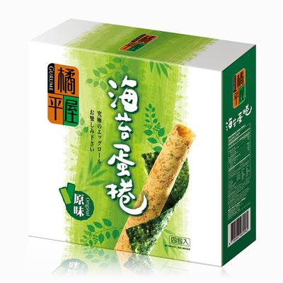 橘平屋海苔蛋捲原味(174g/盒)