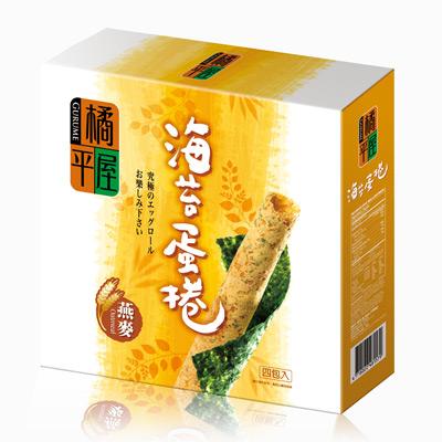橘平屋海苔蛋捲燕麥(174g/盒)