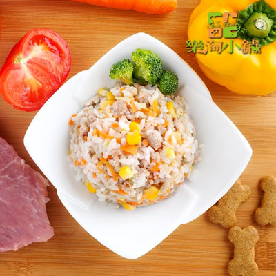 樂淘小舖毛小孩-鮮肉牛蒡菜湯飯(150g/包)