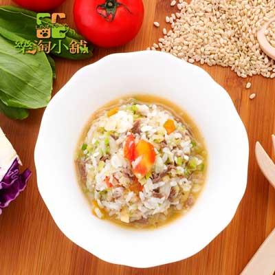 樂淘小舖毛小孩-羊肉番茄糙米飯(150g/包)