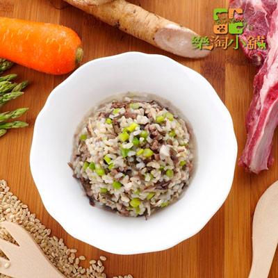 樂淘小舖毛小孩-羊肉牛蒡糙米飯(150g/包)