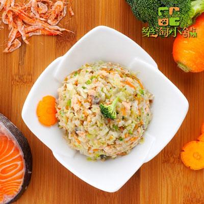 樂淘小舖毛小孩-鮭魚鮮蔬糙米飯(150g/包)