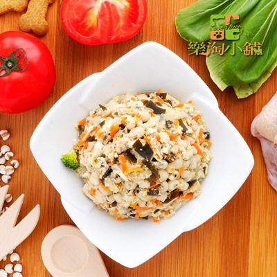 樂淘小舖毛小孩-雞肉海帶薏仁飯(150g/包)