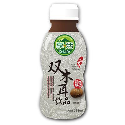 Q-life享活柴燒龍眼双木耳飲(335ml/瓶)