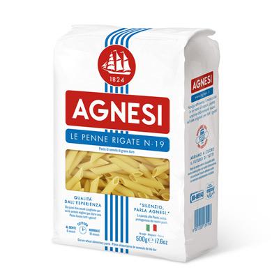 Agnesi義大利筆尖麵(500g/包)