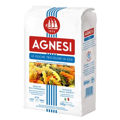 Agnesi義大利彩色螺旋麵(500g/包)