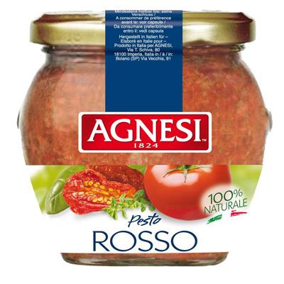 Agnesi義式蒜香義大利麵醬-油漬風乾蕃茄口味