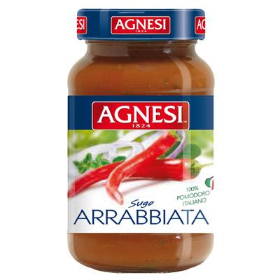 Agnesi義大利辣味蕃茄麵醬(400g/瓶)