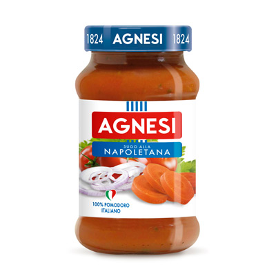 Agnesi拿波里蕃茄義大利麵醬(400g/瓶)
