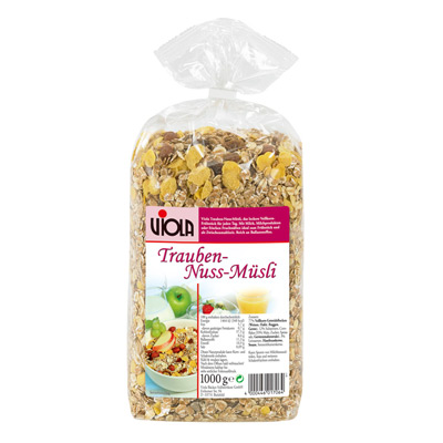 Viola 麥維樂Viola德國葡萄堅果穀片(1000g/包)