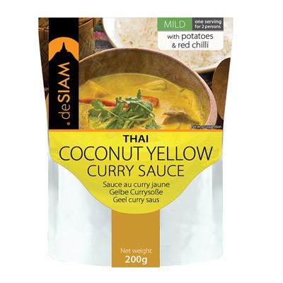 泰式黃咖哩調理醬包(200g/包)