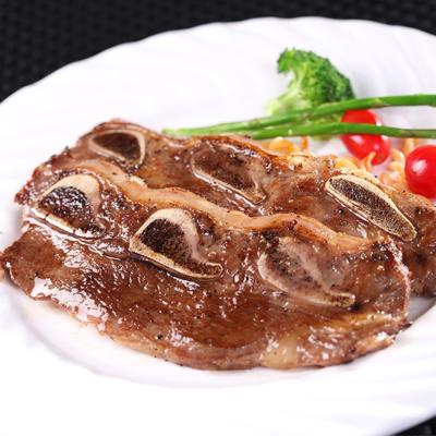 輝帛肉品紐西蘭PS帶骨牛小排(200g±10%/2片)