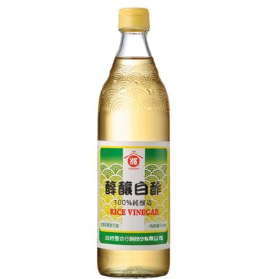 合將純釀白醋(600ml/瓶)